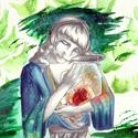 Cette scène se situe au chapitre 17 dans une grotte alors que l'héroïne Ryoko discute avec le gardien de paons. On ne sait pas s'il s'agit d'un univers alternatif créé par Ryoko parce qu'elle sent l'odeur du parfum que son compagnon lui a créé ou si l'endroit existe réellement. Tous deux discutent autour de la mort d'Hiroyuki et des cœurs de paons embaumés. Pour rappel, cet animal est le messager de la mémoire chez les dieux au Japon.